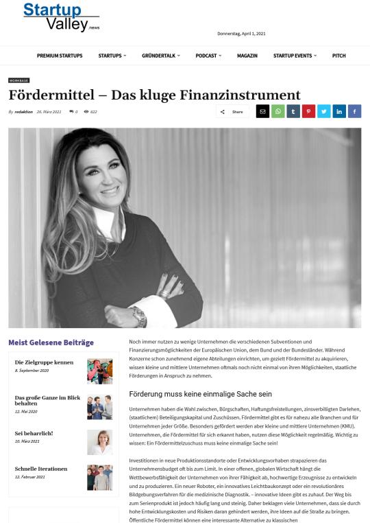 2021-04-01 Fördermittel – Das kluge Finanzinstrument